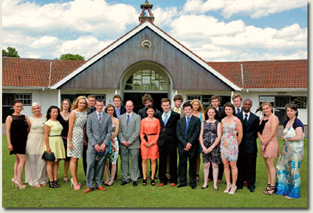 2012 graduates of The National Stud Diploma in Stud Practice and Management