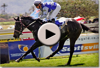 nobukhosi winning her maiden at scottsville racecourse