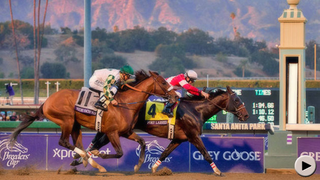 Fort Larned wins the Breeders' Cup Classic