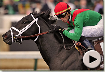 pluck winning the breeders cup juvenile turf