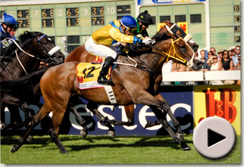 Igugu wins the 2012 J&B Met