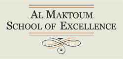 Al Maktoum School Of Management Excellence Logo