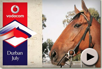 Pierre Jourdan's Vodacom Durban July Gallop