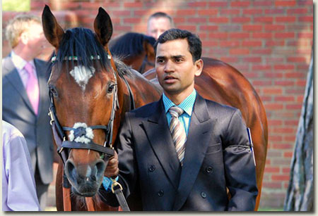 Sandeep Gauravaram with Frankel