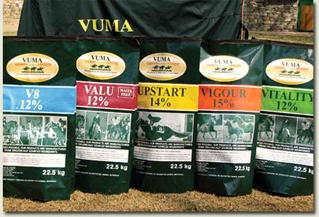 vuma horsefeeds product range