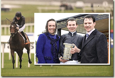 Roderic O'Connor, Anne-Marie, Joseph and Aidan O'Brien - Irish 2000 Guineas