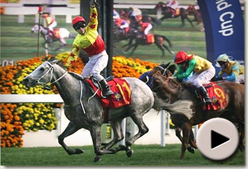 California Memory wins the Cathay Pacific Hong Kong Cup