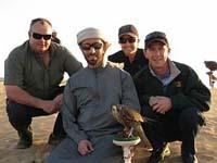 Mike de Kock, Sheikh Saeed bin Mohammed