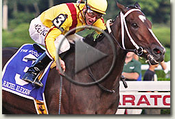 rachel alexandra woodward stakes video