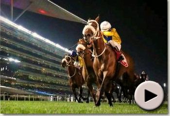 Master of Hounds winning the Jebel Hatta at Meydan