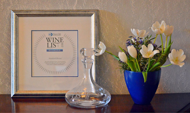 Diners Club Diamond Winelist Award