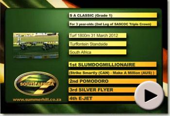 Slumdogmillionaire wins SA Classic