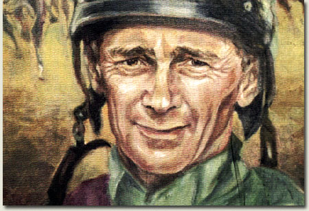 Michael Roberts Champion Jockey