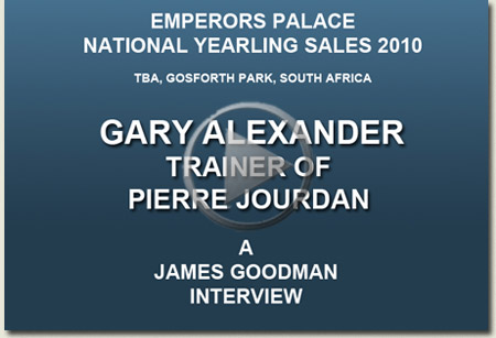 gary alexander interview video