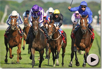 Encke wins the St Leger Stakes