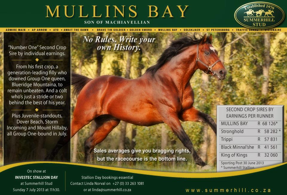 Mullins Bay - Stallion Day 2013