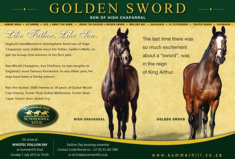Golden Sword - Stallion Day 2013