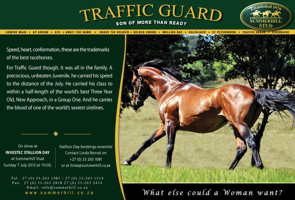Traffic Guard - Stallion Day 2013