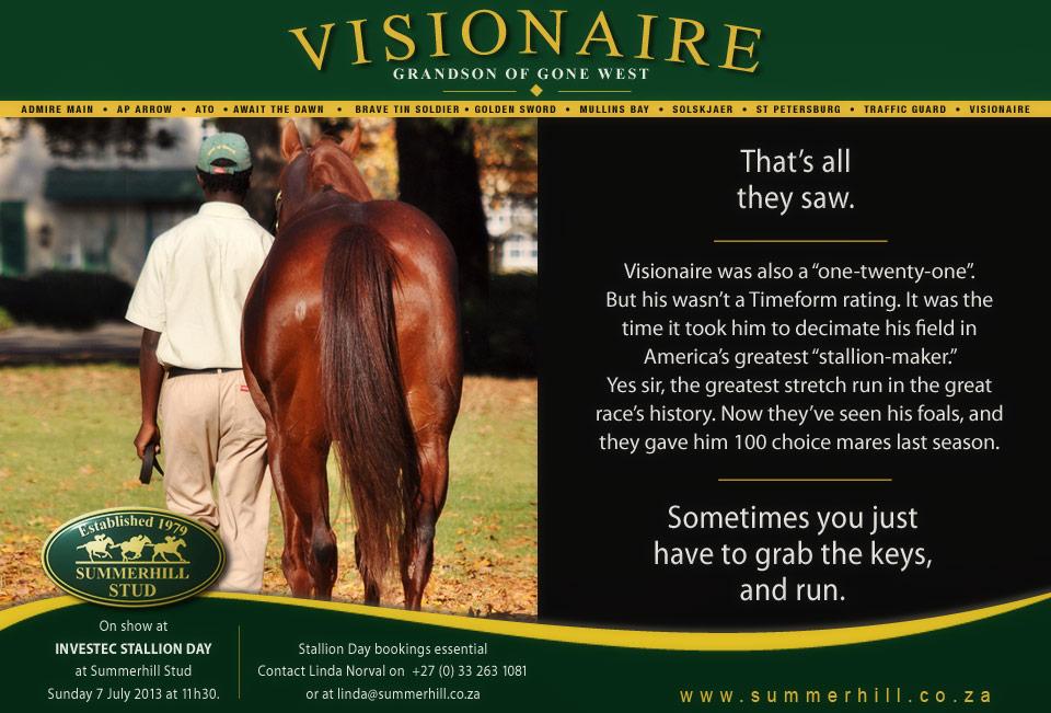 Visionaire - Stallion Day 2013
