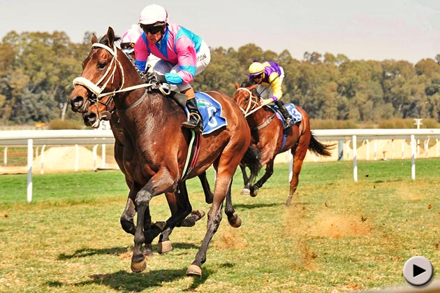 Agadez wins for jockey Piere Strydom
