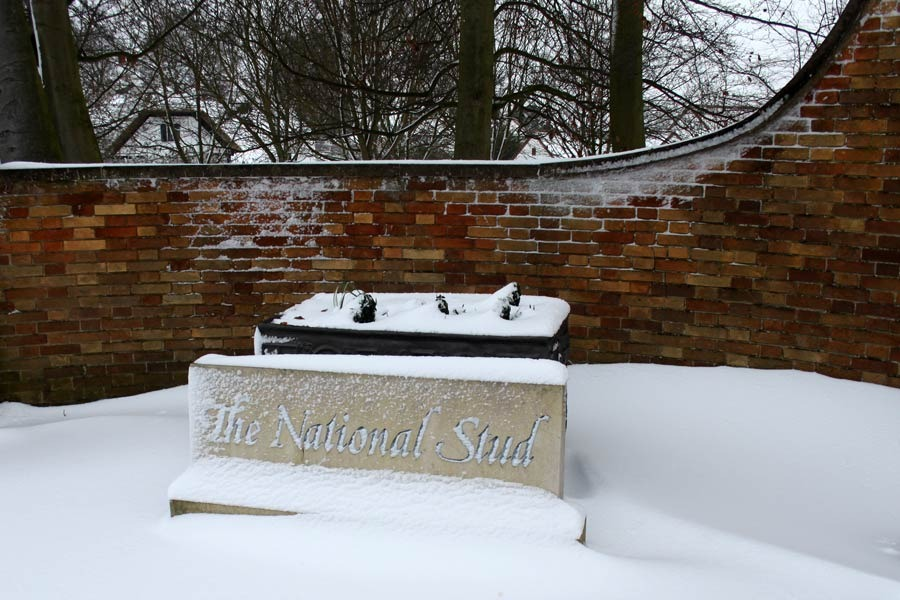 The National Stud Sign