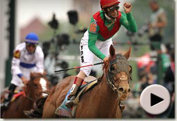 Animal Kingdom wins the 137th Kentucky Derby for Team Valor