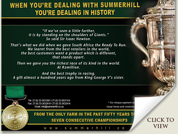 Summerhill Stud - Dealing with History