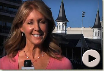 Jill Byrne introduces the 137th Kentucky Oaks - The Run For The Lilies