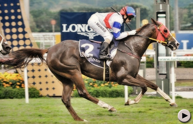 Better Life wins the Longines Singapore Gold Cup