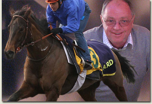 owner rupert plersch and racehorse tiza
