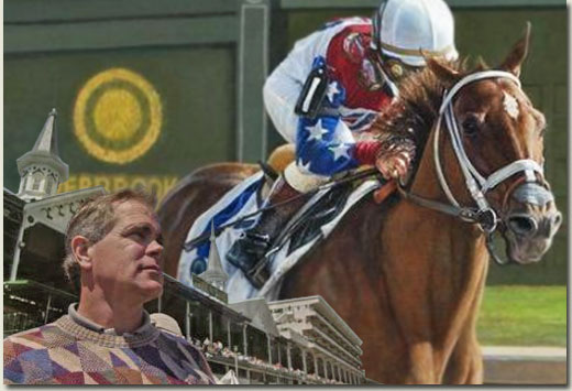 robert clark thoroughbred artist