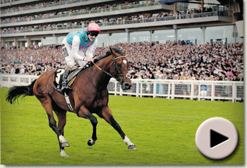 Frankel wins Queen Anne Stakes