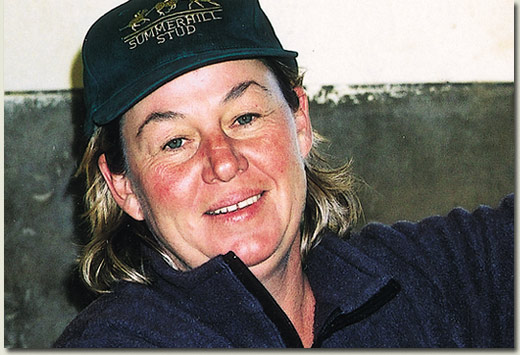diane stenger race horse trainer