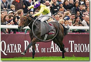 sea the stars 2009 prix de l'arc de triomphe video