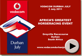 Video of Igugu winning the Vodacom Durban July at Greyville Racecourse, Durban South Africa
