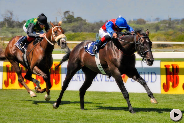Jackson wins the Investec Cape Derby