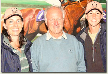 Annet Becker, Mick Goss and Tarryn Liebenberg - Melbourne Premier Yearling Sale