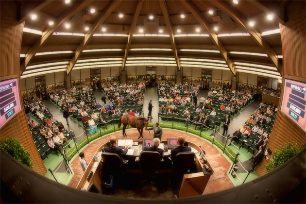 Keeneland Sales Ring