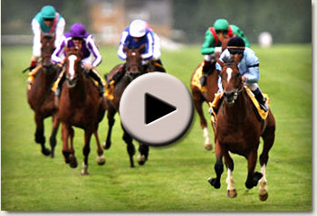 video of harbinger winning the king george vi and queen elizabeth stakes