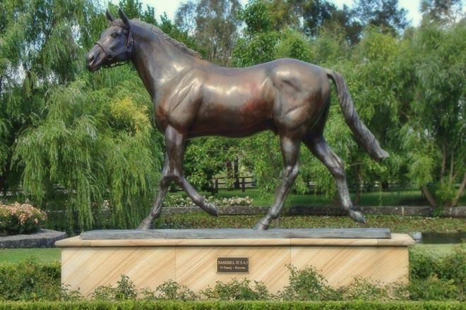 Danehill Statue
