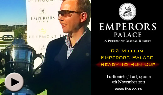Red Barrel : Markus Jooste Racing wins Emperors Palace Ready To Run Cup