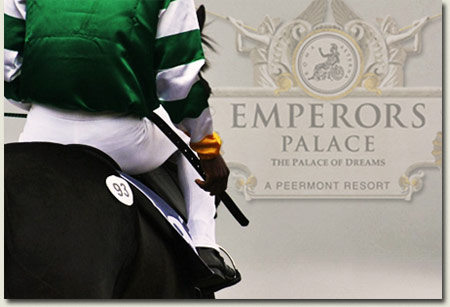 emperors palace ready to run gallops at summerhill stud