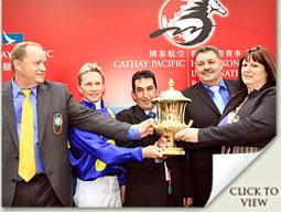 j j the jet plane winning hong kong sprint trophy presentation