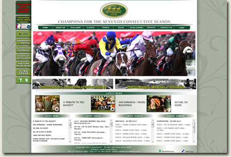Summerhill Stud - Top Thoroughbred Breeding Website in the World