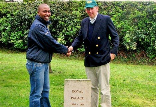 Thabani Nzimande and Anthony Cane