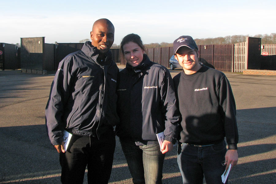 Thabani Nzimande and Mathew de Kock - The National Stud
