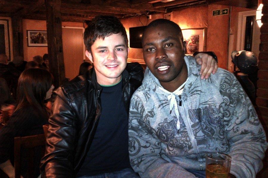 Mathew de Kock and Thabane Nzimande