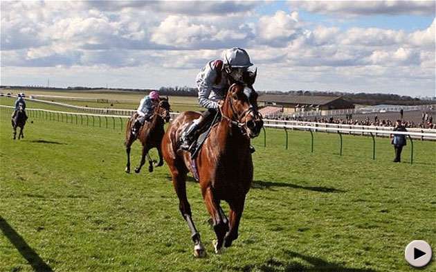 Toronado wins the Craven Stakes