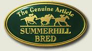 summerhill stud genuine article logo