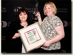 diners club diamond wine list award